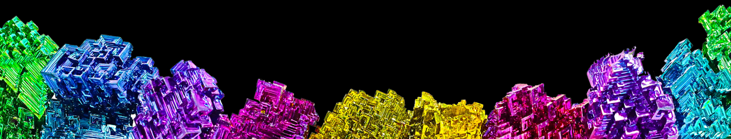 BISMUTH SCULPTURES